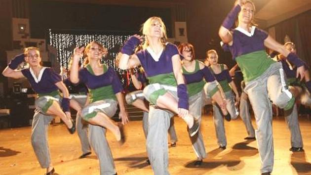 Taneční skupina Glamour Sokolov.