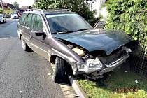 Nehoda ve Vintířově.
