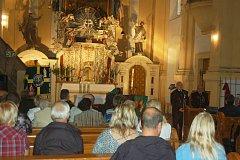 KOSTEL Chodovští využívají nejen k církevním obřadům, ale také k pořádání kulturních akcí.