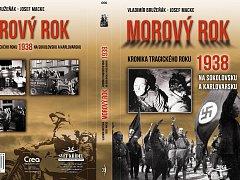 Obálka nové knihy Vladimíra Bružeňáka a Josefa Macka Morový rok.