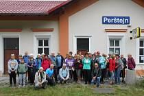 Slaměnka se vydala do Perštejna.