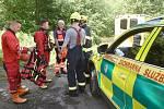 K další záchraně osob z vody vyjížděli hasiči v pondělí po poledni.