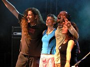 Koncert Gaia Mesiah v loketském amfiteátru.