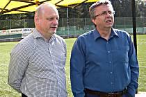 Sokolovští místostarostové Jan Picka (vlevo) a Karel Jakobec.