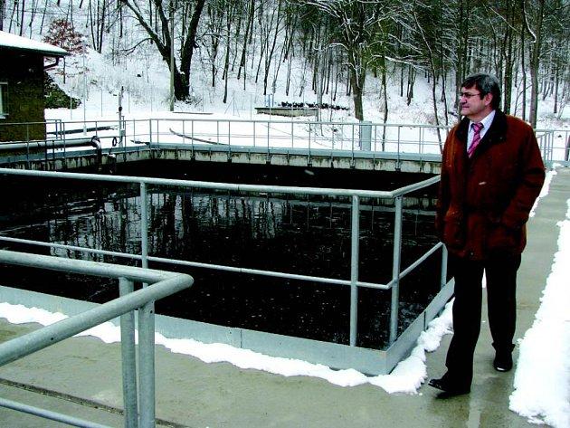 Nová čistírna odpadních vod v Horním Slavkově.