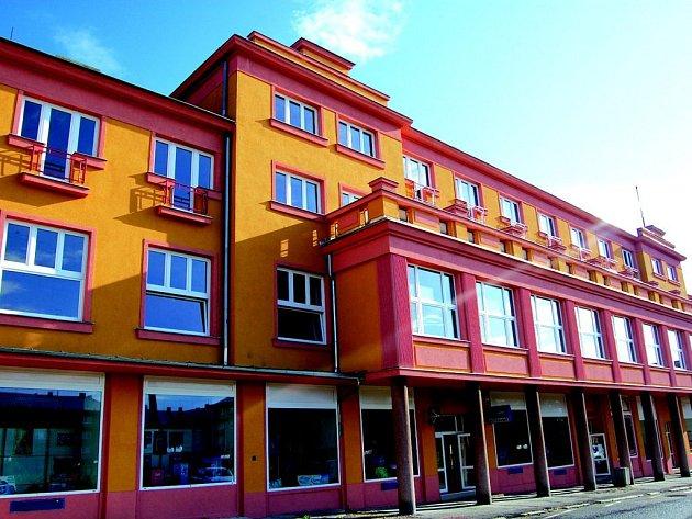 Bývalý hotel Tatran v Horním Slavkově.