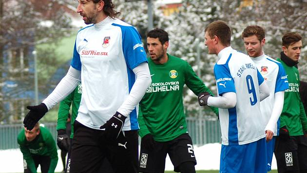 Zimní příprava: FK Baník Sokolov- BSG Stahl Riesa