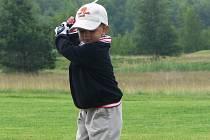Jakub Švarc, čtyřletý golfista