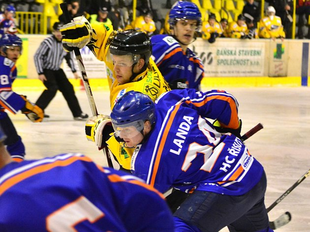 II. hokejová liga: HC Baník Sokolov - HC Řisuty