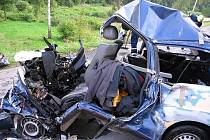 Tragická nehoda na silnici I/6.