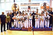 Závěrečné kolo mezinárodní ligy mládeže v kyokushin karate v Sokolově