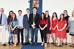 Město ocenilo pilné žáky i studenty.