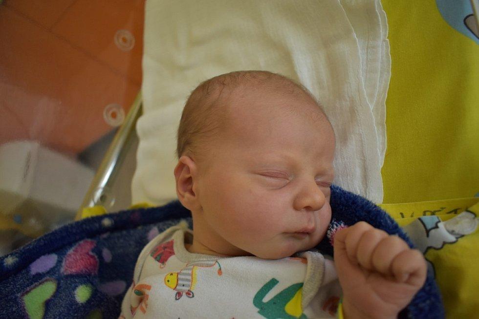 Elliot Katreniak ze Sokolova se narodil 21. července 2020 v porodnici v Sokolově.