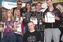Výprava chodovských kickboxerů v Zubří na Moravě