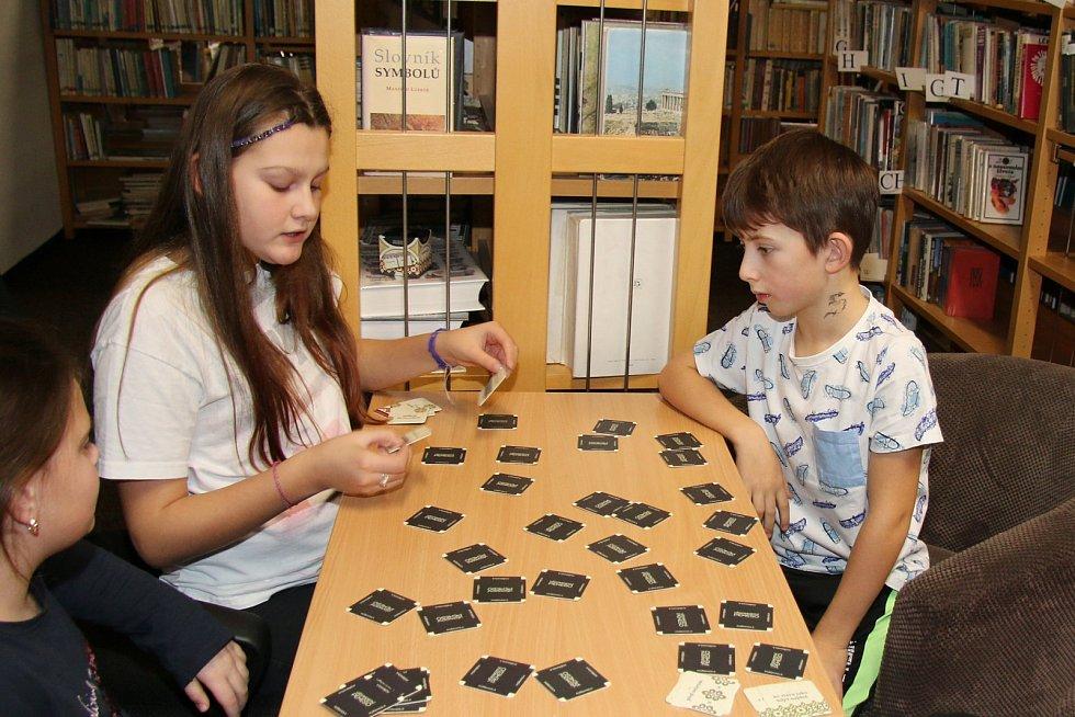 Turnaj v pexesu v Knihovně Horní Slavkov