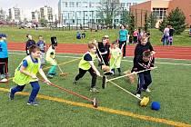 Školní hřiště opět slouží veřejnosti.