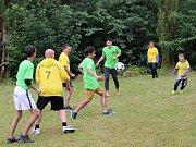 Fotbal pro rozvoj nabídl nejen fotbalová utkání, ale také spoustu dobré zábavy.