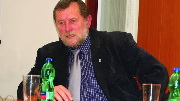 Starosta na odchodu Zdeněk Brantl.