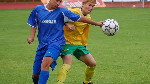 Starší žáci Baníku Sokolov s Mostem neuspěli (na snímku), ale z Neratovic přivezli tři body.