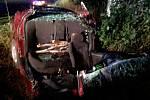 Vážná nehoda u Šabiny.