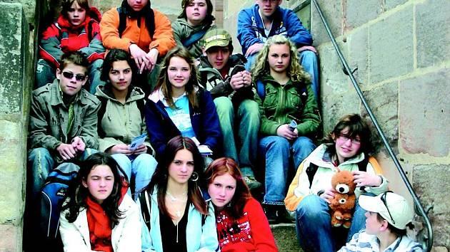 Osmáci ze sokolovské základní školy se v rámci výuky podívali za hranice.