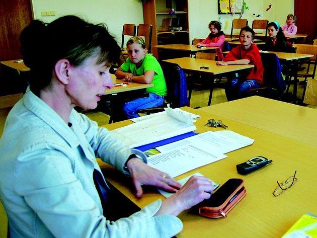 Školáci skládali přijímací zkoušky na gymnázium v Sokolově