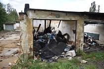 Demolice garáží