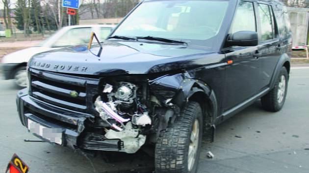 Dopravní nehoda v Dolním Rychnově.