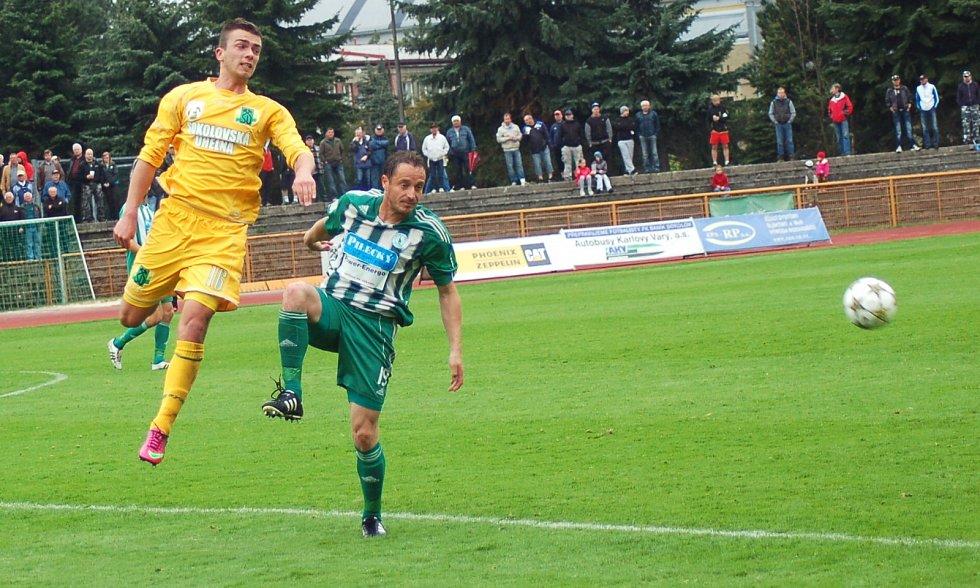 25. kolo FNL: FK Baník Sokolov - FK Bohemians Praha 1:1