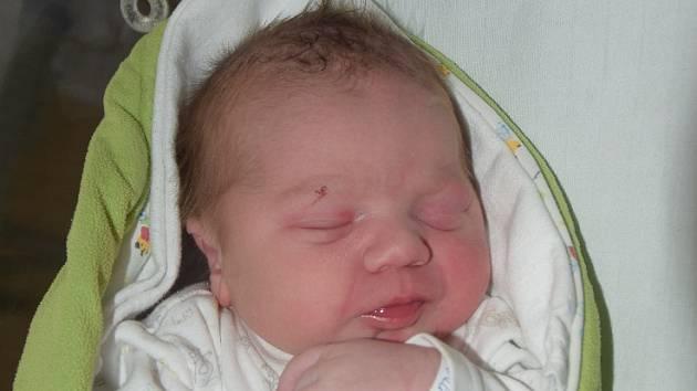 Adam Přichystal z Bechyně. Rodiče Ludmila a Martin se svého prvorozeného syna dočkali 19. září v 11.46 hodin. Po narození vážil 3750 gramů a měřil  51 cm.