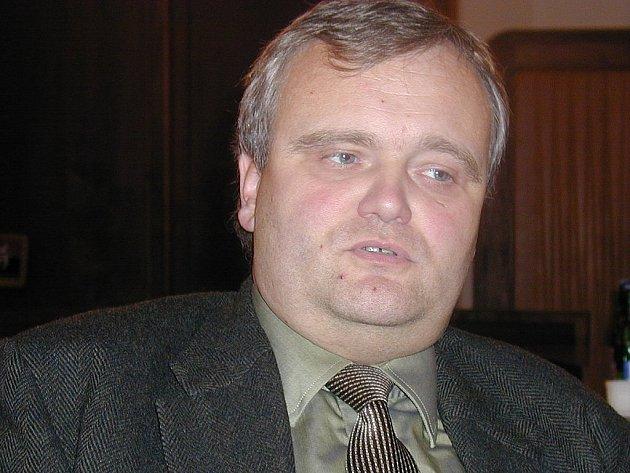 Bývalý starosta města a současný poslanec za ODS František Dědič