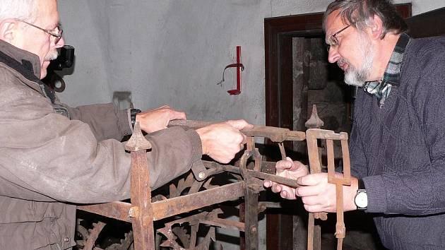 Nález stroje ze 16. století dá vzniknout expozici hodin.