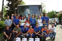Soutěžní družstva po okrskové soutěži ve Stoklasné Lhotě 8. května 2009. Muži  týmu A druzí, muži B třetí, starší muži první, ženy A první, ženy B druhé .
