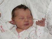 Aneta Píchová ze Skalice. Narodila se 19. listopadu v 16.52 hodin. Vážila 3370 gramů, měřila 50 cm a má brášku Daniela, kterému jsou dva roky a tři měsíce.