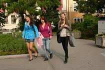 Studenti obchodní akademie