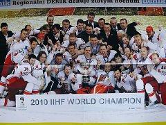 Zlatý tým českých hokejistů