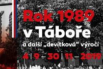 Rok 1989 v Táboře.