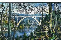 Bechyňský most Duha.