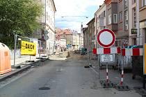 Třetí etapa opravy Budějovické ulice je v plném proudu.