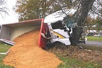 Dopravní nehoda u Turovce