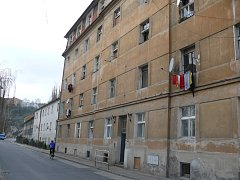Dům v táborské Lužnické ulici je známý jako Fišlovka.