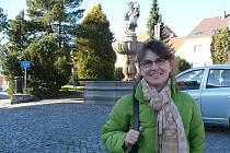Monika Kovářová je v Jistebnici spokojená. Samozřejmostí je však vlastní auto
