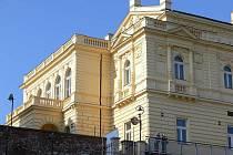 Historická budova táborské Střelnice.