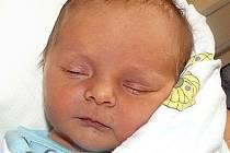 EDVARD NEJDR Z HORNÍCH HOŘIC. Do rodiny Jany a Jakuba vstoupil 3. srpna v 8.50 hodin jako první potomek.