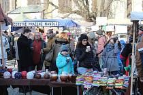 Staročeský vánoční trh v Táboře.