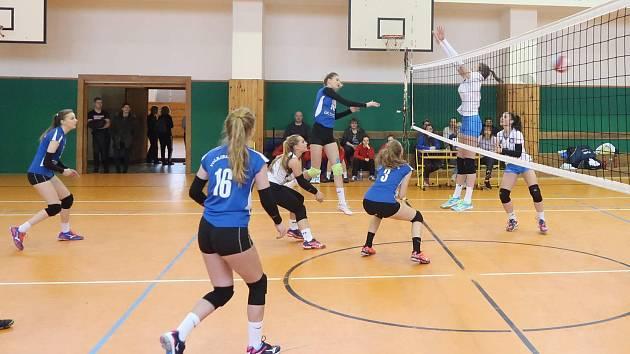 Ilustrační foto ze zápasu táborských juniorek.
