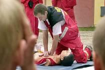 V Táboře se dnes koná okresní kolo zdravotnické soutěže mladý záchranář.