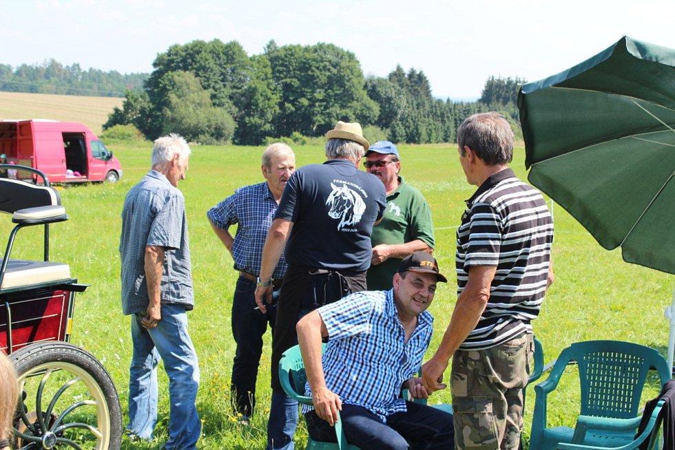 Ve Vescích u Soběslavi se konal 8. srpna 2020 již 17. ročník Formanské jízdy.