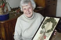 Čtyřiaosmdesátiletá sokolka má dodnes uchovaný vavřínový věnec, který její dědeček získal na všesokolském sletu.
