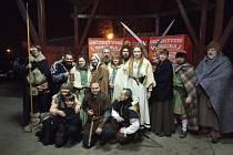 Ve Veselí nad Lužnicí oslavili keltský svátek světla a ohně.